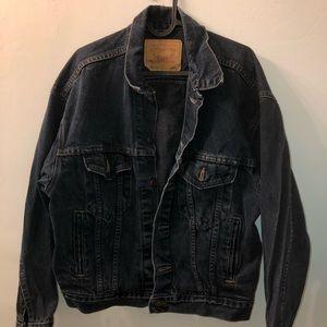 Vintage Levis Boyfriend Dark Wash Denim Jacket S